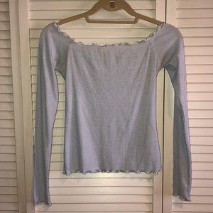 Off the shoulder Hollister T-shirt